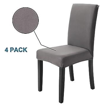 coprisedie con schienale 4 pezzi moderna protettiva in elastico ...