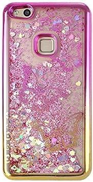 Asnlove Custodia Brillantini per Huawei P10 Lite, Bling Glitter ...