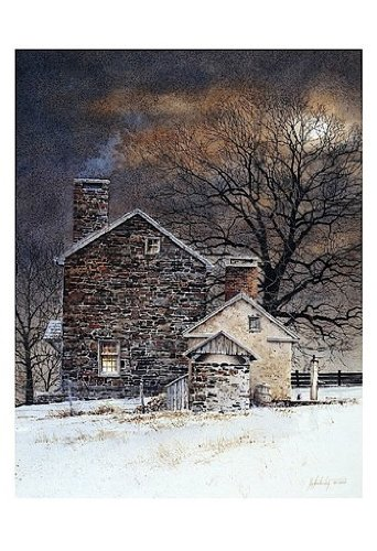 Blue Moon - Poster by Ray Hendershot (13x19)