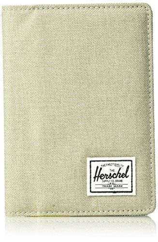 Herschel Supply Co. Raynor Rfid Passport Holder, Light Khaki Crosshatch, One Size ()