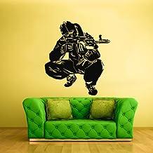 Wall Decal Vinyl Decal Sticker Decor Art Bedroom Sniper Soldiers War Warior z2126