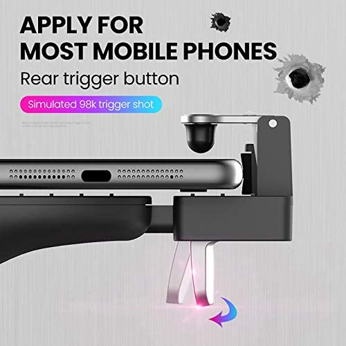 KYT-私 ゲームトリガージョイスティック用Android携帯Pubgモバイル携帯コントローラーゲームパッドゲームパッド