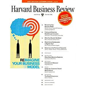 Harvard Business Review, December 2008 Periodical