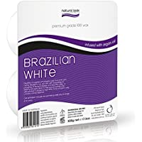 Natural Look Premium Grade XXX Grade Brazilian White Wax 500g