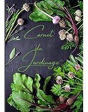 CARNET DE JARDINAGE: Journal de bord du jardinier à remplir   Pour tous les jardiniers en devenir ou experts  Un cadeau idéal à offrir ou à s'offrir  109 pages - 17,78*25,4 cm (7x10 po) (français) broché