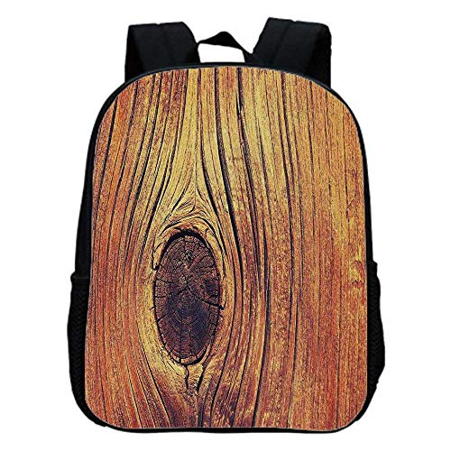 Rustic Home Decor Fashion Kindergarten Shoulder Bag,Lfe Tree Concept with Divided Core Macro Circles Habitat Natural Wonder Photo For ()