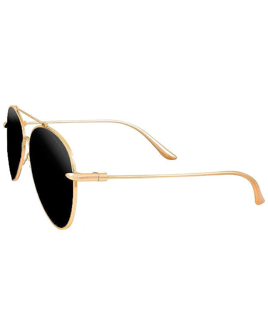 26d46b9d6fd5 Amazon.com: Aquaswiss Womens Aqs Unisex Tommie 60Mm Polarized Sunglasses:  Clothing