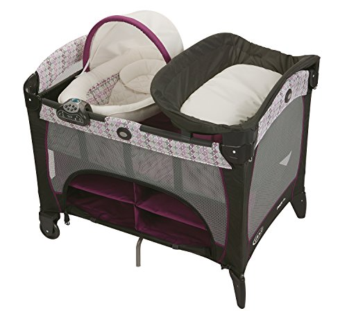 Graco Pack 'N Play Playard with Newborn Napperstation DLX...