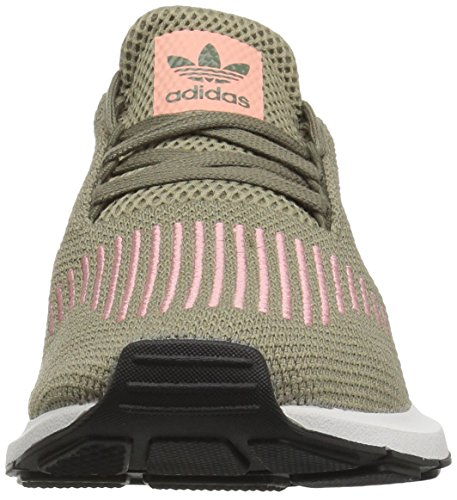 adidas Originals Frauen Swift Run W Trace Cargo / Trace Pink / Kristallweiß