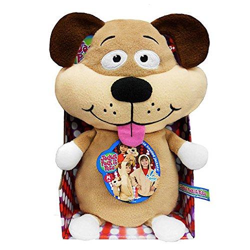 Jacket Pack-It Pets - Dog Kids Plush Hoodie Jacket As Seen On TV - Size M (7/8)