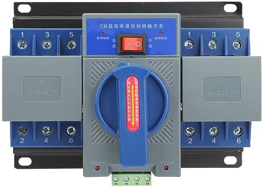 63A 4P Automatischer Umschalter Transfer Switch Dual Netzteil Transferschalter