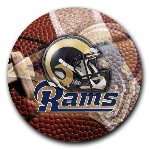 - Rams Round Mousepad Mouse Pad Great Gift Idea St. Louis Rams Football