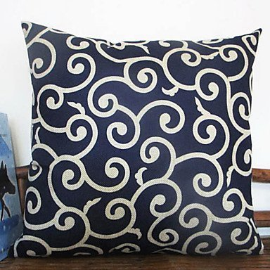 Lumimi Graceful Clouding Pattern Decorative Pillow Cover ( 18*18 in - Sheet Colts Set Indianapolis Cotton
