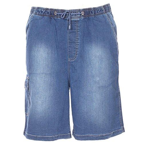 Bermuda Elasthane Coton Grande Short Abraxas Taille Bleu xq165YOngw