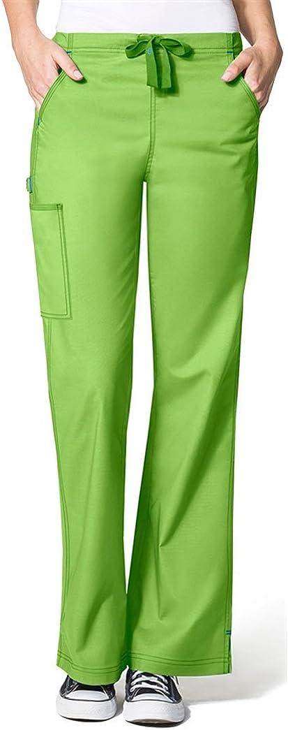 WonderWink Women's WonderFLEX Grace Flare Leg Cargo Pant
