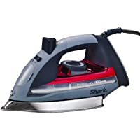Steam Iron, Red, Product Dimensions: 11.8 x 5.4 x 6.4 inches
