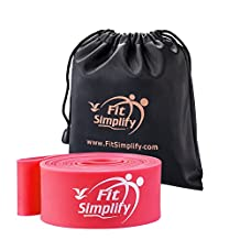 Fit Simplify Ballet Stretch Bands - Dance Stretchers and Flexiblity Trainers - For Dancers, Skaters and Gymnasts - Carry Bag and Stretching e-Guide