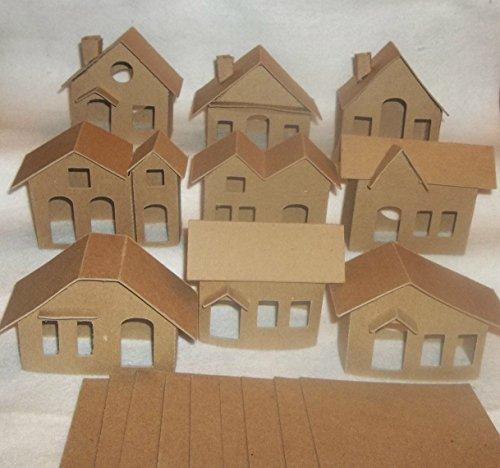 vintage putz houses - 7