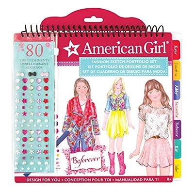 American Girl BeForever Fashion Sketch Portfolio: Toys & Games