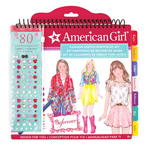 American Girl BeForever Fashion Sketch Portfolio