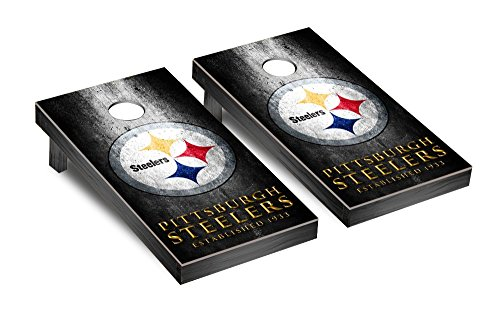 NFL Pittsburgh Steelers Cornhole Game Set (museum Version), Multicolor, One Size by Victory Tailgate