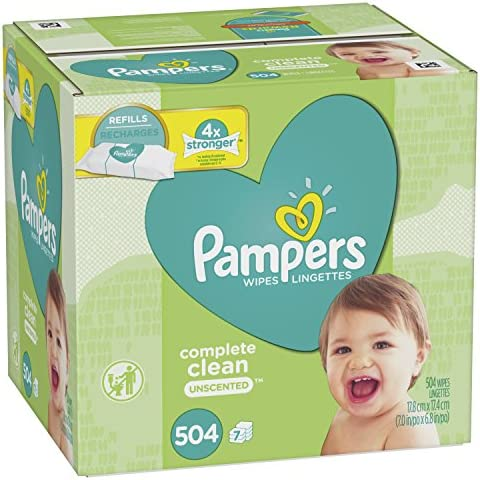Pampers Wipes Complete Unscented Refills product image