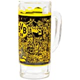 Brauns Borussia Dortmund Bierkrug Südtribüne BVB, schwarz-gelb, 15213
