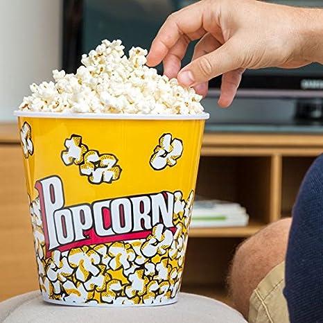Cubitera Para Hacer Palomitas Popcorn Fiestas Cine en Casa Infantiles: Amazon.es: Hogar