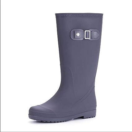 scarpe sportive b464b 373d6 HRFHLHY Caldo e Confortevole Deodorante Moda Stivali Pioggia ...