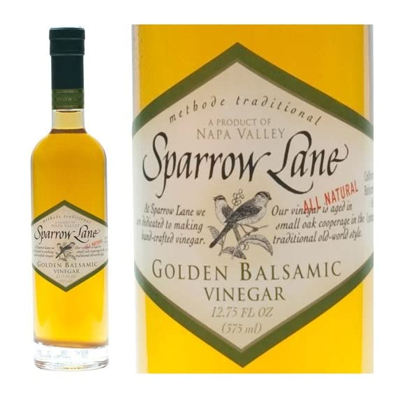 Golden Balsamic Vinegar - 1 bottle - 12.75 fl oz 1 Product Size: 1 bottle - 12.75 fl oz From USA, by Sparrow Lane Click the Gourmet Food World name above to see all of our products. We sell: