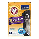 Arm & Hammer Large Pet Training and Puppy Pads 22.5-inch by 30-inch - 36-Count