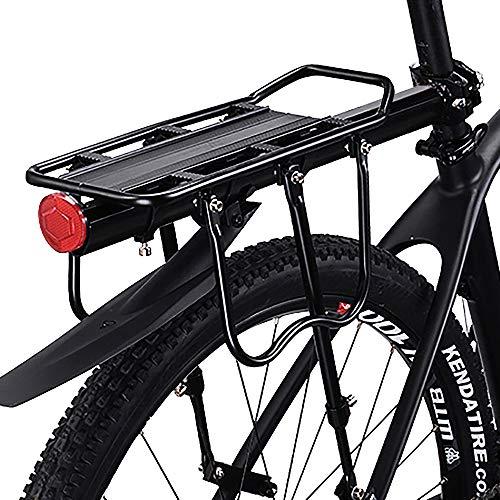 HEYNEMO Bicycle Carrier Racks, Bike Carrier Rack with Fender, Luggage Cargo Rack Bicycle Carrier 110-165 Lb Capacity…