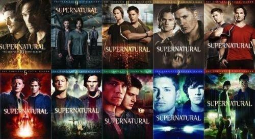 Supernatural Season 1-10 Bundle
