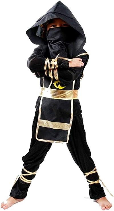 Disfraz de ninja - niño - 3/5 años - vestido - samurai - niño ...
