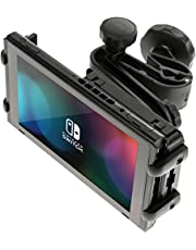 honju Game Auto Halterung für Nintendo Switch [Made in Germany | Vibrationssicher | Zugang zum Ladeanschluss | Keine Behinderung der Abluft] 61472