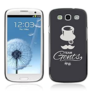 Designer Depo Hard Protection Case for Samsung Galaxy S3 / Cool Gentleman Team