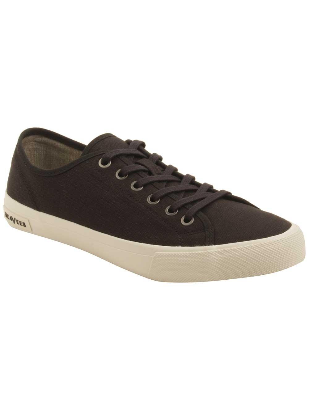 SeaVees B007BQYOOE Men's Monterey Standard Sneaker B007BQYOOE SeaVees 7.5 D(M) US|Black 6a8af6