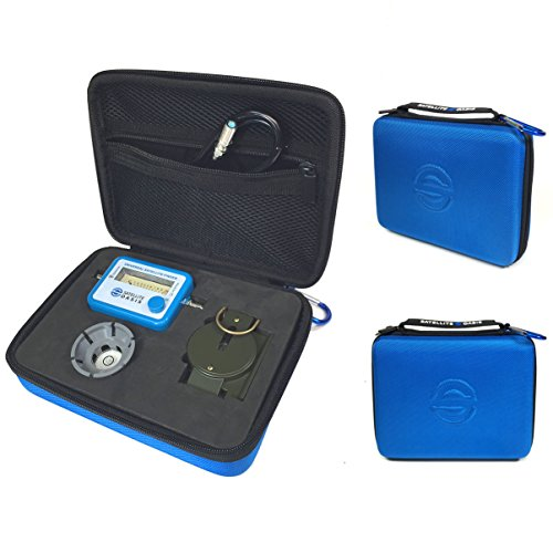 Satellite Finder Meter Kit in Hardshell Case by Satellite Oasis