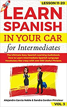 LEARN SPANISH YOUR CAR Intermediates ebook product image