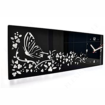 orologio da parete moderno farfalla
