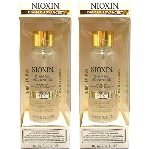Nioxin Diamax Advanced Thickening Xtrafusion Treatment 100ml/3.38oz (Gold Label) (pack of 2)