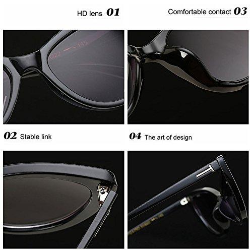 C6 Vintage Gradient Gafas gato De Moda para Eyewear Gafas Sol Retro Mujer Style de Bmeigo Ojos Lens Sunglasses A4wYTA
