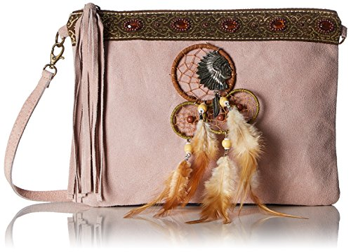 Chicca Borse 1525 - Bolso de hombro Mujer Rosa (Pink Pink)