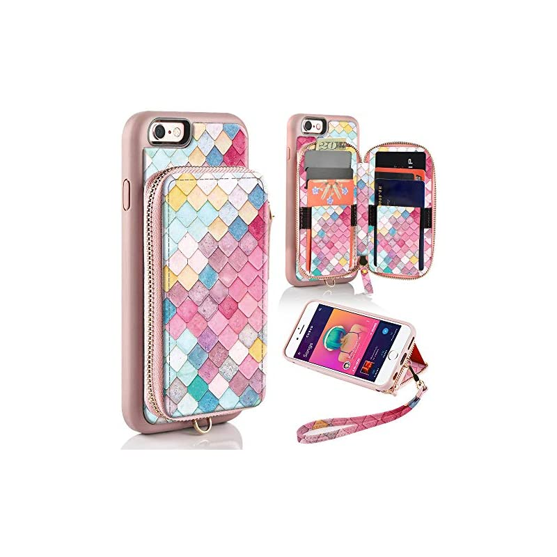 ZVE Wallet Case for Apple iPhone 6s and