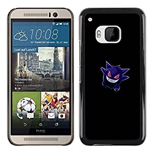 FU-Orionis Colorful Printed Hard Protective Back Case Cover Shell Skin for HTC One M9 - Gengar Pokemon
