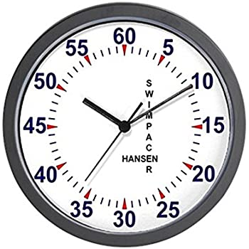 Amazon Com Competitive Swimming 31 Inch Wall Clock