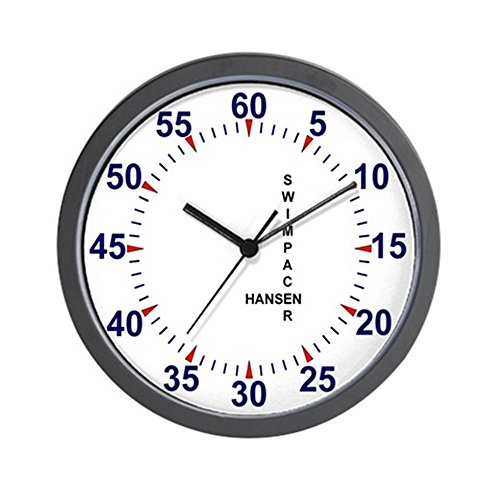 CafePress - Swim Pace Clock - Unique Decorative 10