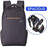 Lapacker Professional Slim Lightweight Laptop Backpack for Women&Men, Shockproof Computer Backpack Fits Most 15 Inch Laptops and Tablets Anti Theft Business Travel Backpack with Double Layer Zipper