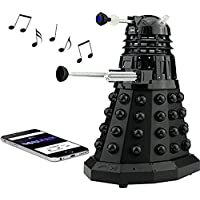 Doctor Who Dalek SEC Bluetooth Speaker with MIC, LEDs and Sound Effects, Best Doctor Who gift in the Universe