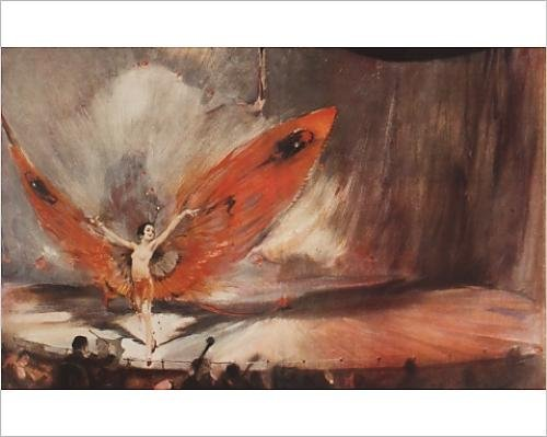 Showgirl Costumes Online (Photographic Print of The Red Moth by William Barribal)